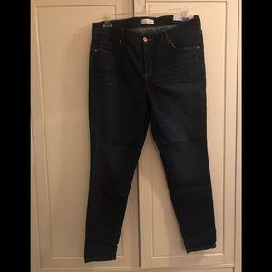 LOFT jeans - modern skinny - 14 - NWT